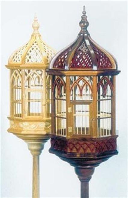Cherry Tree Toys Victorian Pedestal Birdcage Plan