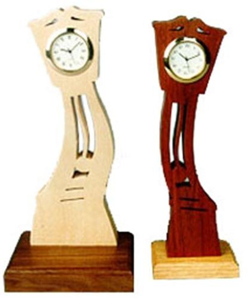 Wildwood Designs Little Bent Clock Plan