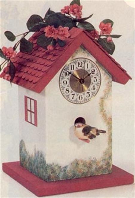 Cherry Tree Toys Birdhouse Clock Plan