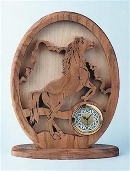 Wildwood Designs Wild Mustang Clock Plan