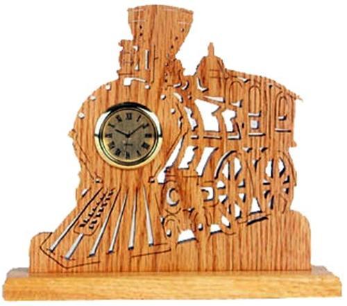 Wildwood Designs Locomotive Clock Plan