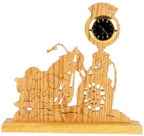 Wildwood Designs Vintage Cycle Clock Plan