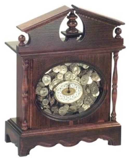 Cherry Tree Toys Oval Fill Clock Plan