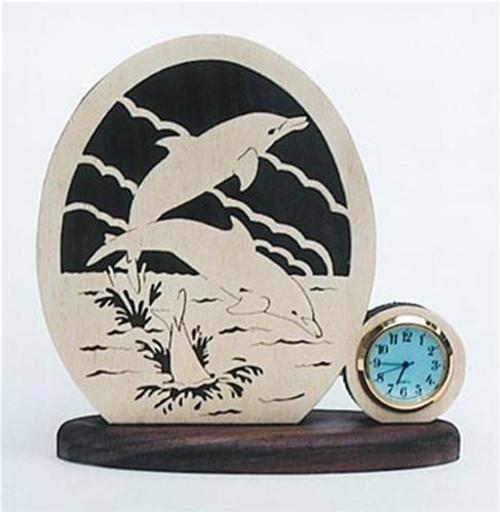 Wildwood Designs Dolphins Clock Plan