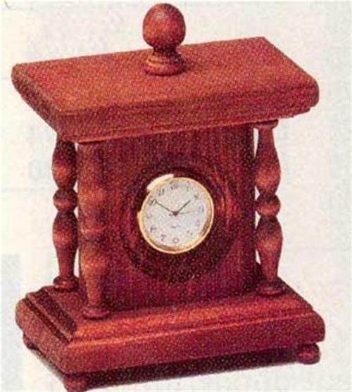 Cherry Tree Toys Mini Finial Clock Plan