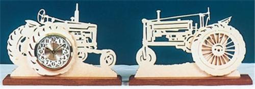 Wildwood Designs Two Tractors Clock Plan