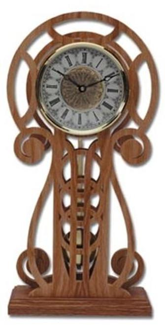 Wildwood Designs Circles Clock Plan