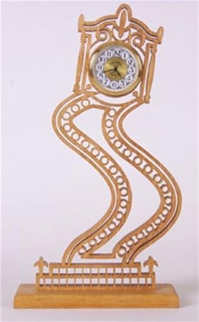 Wildwood Designs Curvy Grandma Clock Plan II