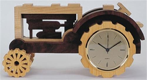 Wildwood Designs Tractor Clock Plan
