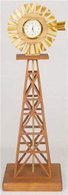 Wildwood Designs Country Windmill Clock Plan