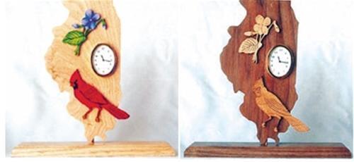 Wildwood Designs Illinois Clock Pattern