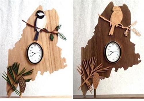 Wildwood Designs Maine Clock Pattern