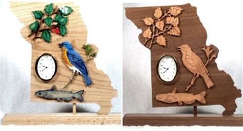 Wildwood Designs Missouri Clock Pattern