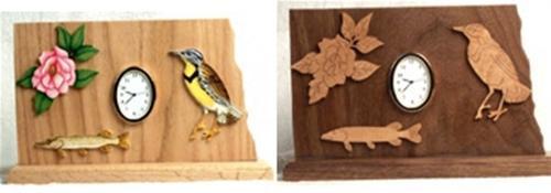 Wildwood Designs North Dakota Clock Pattern