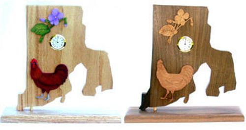 Wildwood Designs Rhode Island Clock Pattern