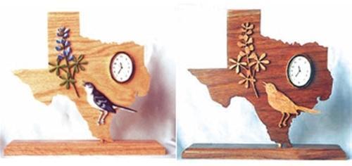 Wildwood Designs Texas Clock Pattern