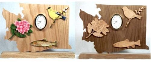 Wildwood Designs Washington Clock Pattern