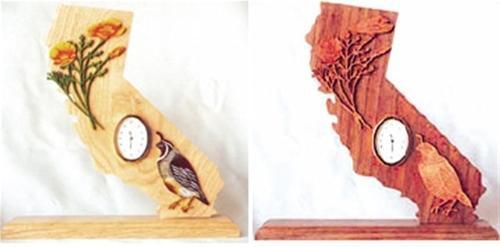 Wildwood Designs California Scroll Saw Clock Pattern