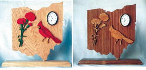 Wildwood Designs Ohio State Clock Pattern