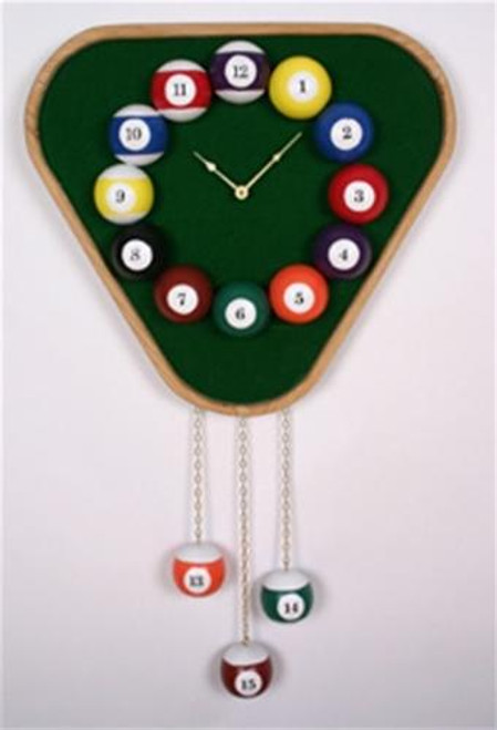 Cherry Tree Toys Pool Ball Clock Plan