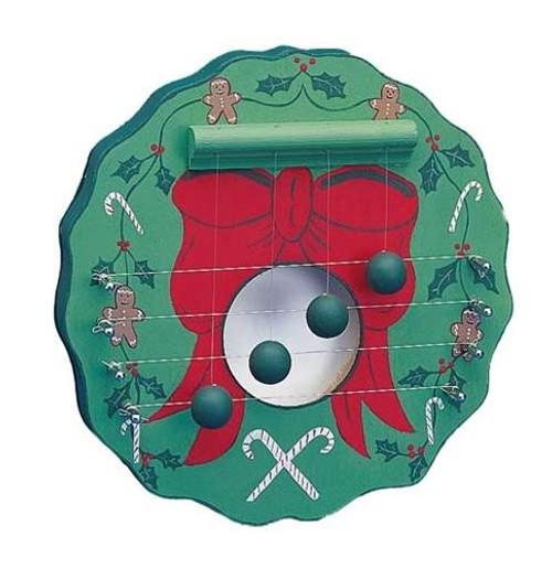 Cherry Tree Toys Christmas Wreath Door Harp Plan