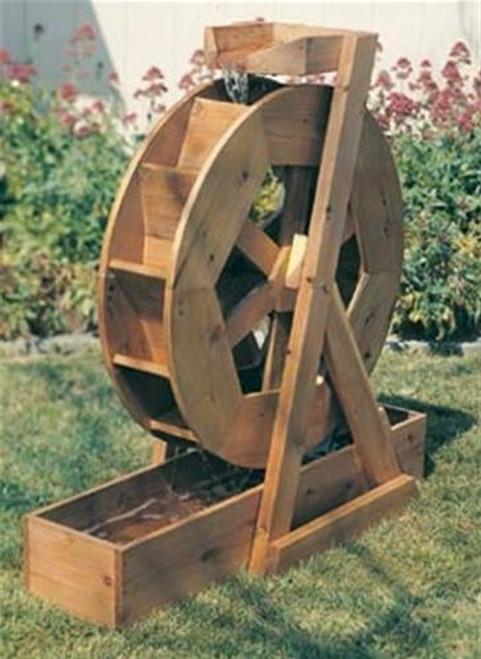 U-Bild Water Wheel Woodworking Plan