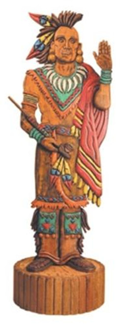 Cherry Tree Toys 8 Foot Indian with Peace Pipe Plan