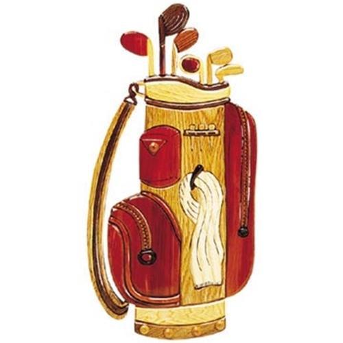 Cherry Tree Toys Golf Bag Intarsia Plan