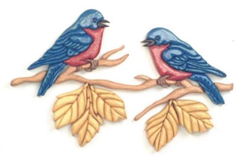 Cherry Tree Toys Love Birds Intarsia Plan