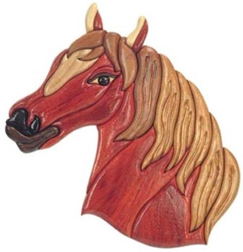 Cherry Tree Toys Horse Intarsia Plan