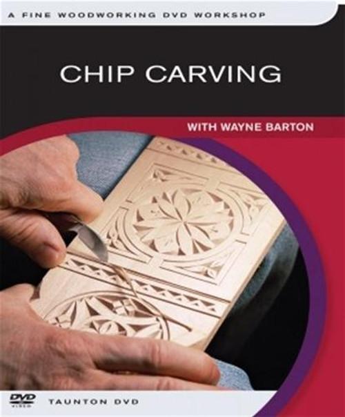 Fox Chapel Publishing Chip Carving DVD with Wayne Barton