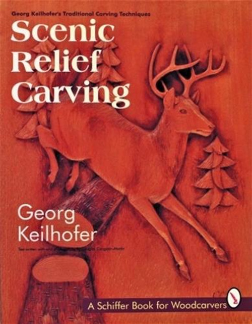 Schiffer Publishing Scenic Relief Carving