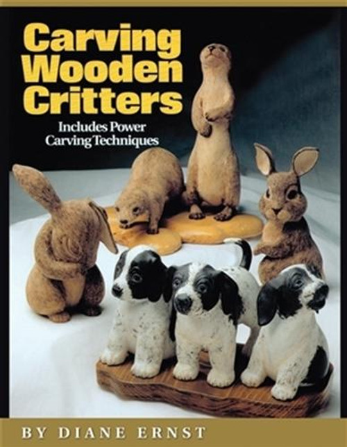 Fox Chapel Publishing Carving Wooden Critters