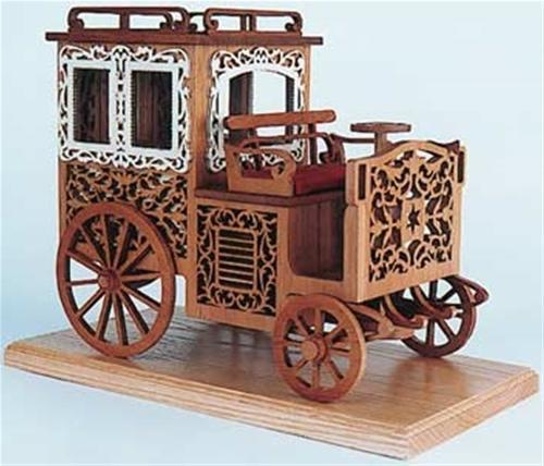Wildwood Designs Antique Carriage Scroll Saw Plan