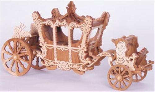 Wildwood Designs Cinderellas Carriage Scroll Saw Plan