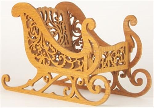 Wildwood Designs Victorian Sleigh Scroll Saw Plan