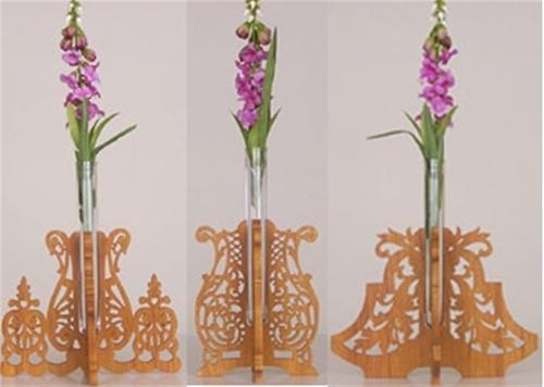 Wildwood Designs Fancy Bud Vases Plan