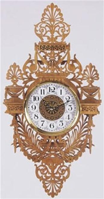 Wildwood Designs Florentine Clock Scroll Saw Plan