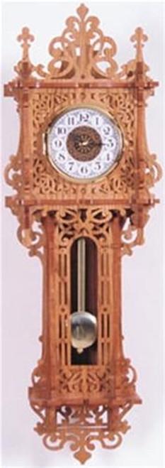 Wildwood Designs Williamsburg Wall Clock Scroll Saw Plan