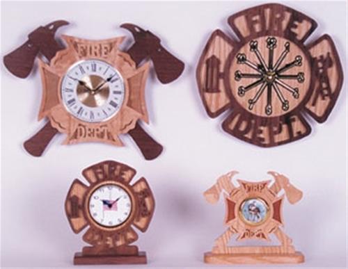 Wildwood Designs Fire Department Emblem Plan