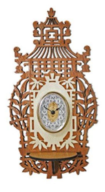 Wildwood Designs Japanese Scroll Saw Clock Plan