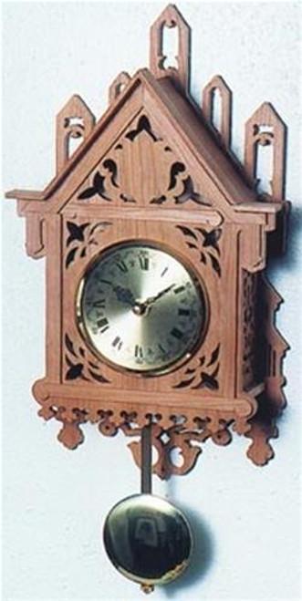 Wildwood Designs Minaret Scroll Saw Clock Plan