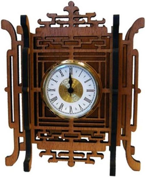 Wildwood Designs Ming Dynasty Scroll Saw Clock Plan