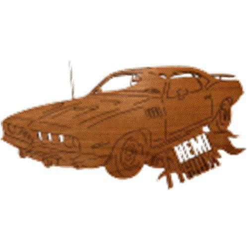 Wildwood Designs Cuda Muscle Car Plan