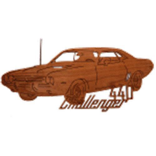 Wildwood Designs Challenger 440 Muscle Car Plan