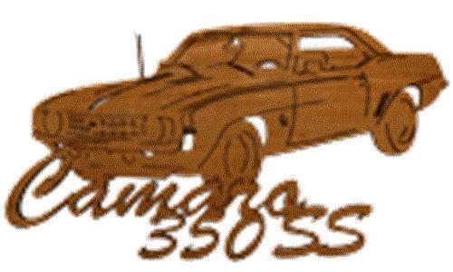 Wildwood Designs Camaro 350 SS Muscle Car Plan