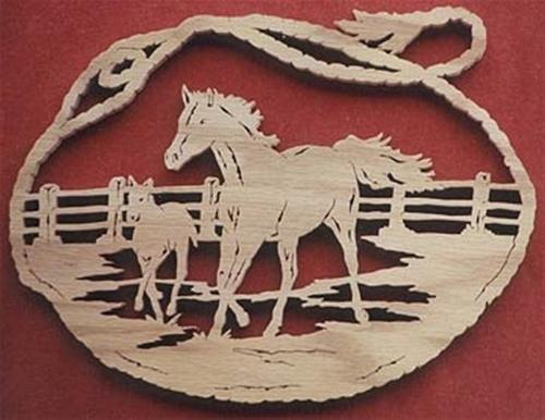 Wildwood Designs Spirit of The Pasture Silhouette Plan