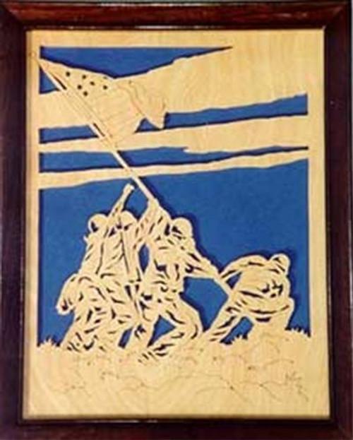 Wildwood Designs Raising the Flag At Iwo Jima Plan