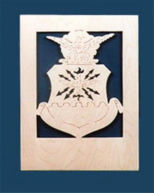 Wildwood Designs Air Force Emblem Plan