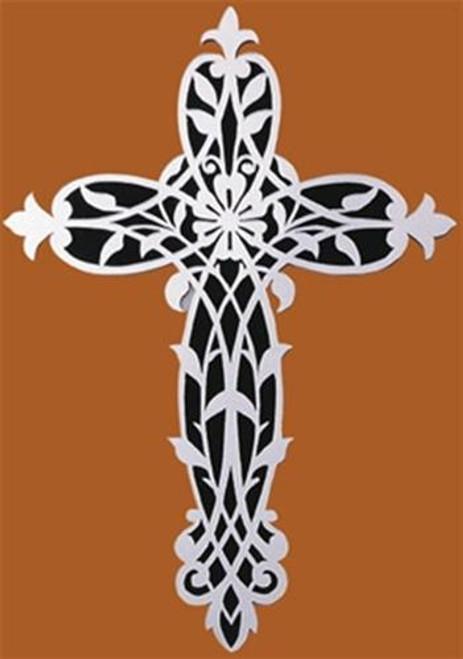 Wildwood Designs Mirrored Cross Scroll Saw Plan